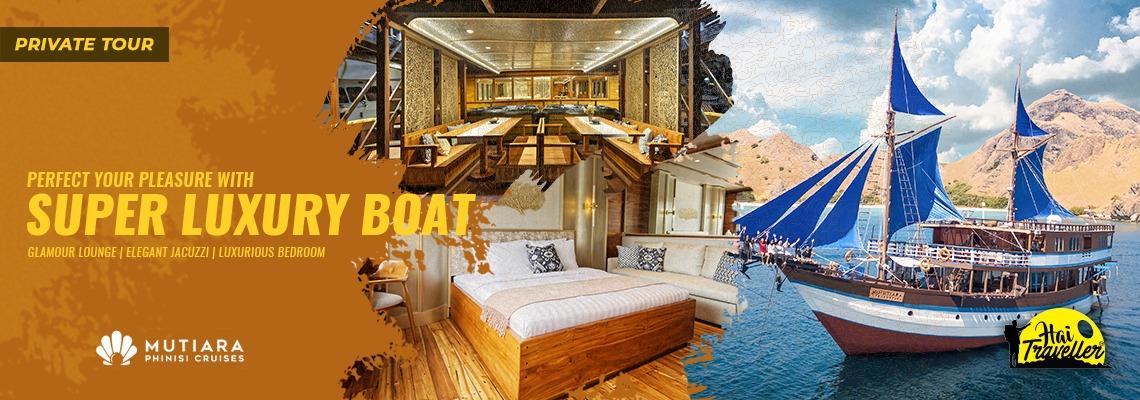 Luxury Phinisi : Mutiara Phinisi Cruise